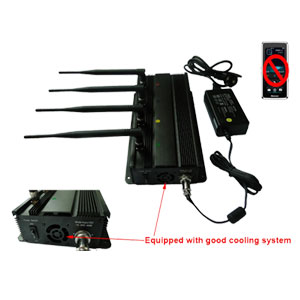 Handheld Cell Phone Jamming - Mobile Phone Signal Jammer Able To Be Used In Car + 40 Meter Range