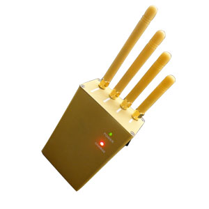 3g 4g jammer - Handheld Cellphone GPS Jammer 3Watts output power + four Antennas
