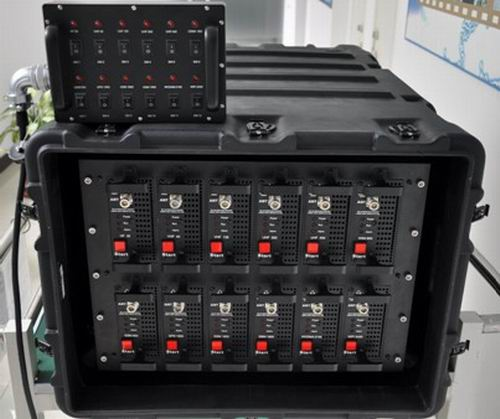 868W High Power Fully Integrated Broad Band Jamming System