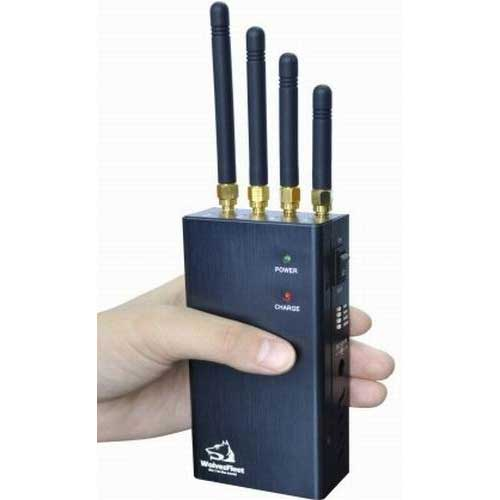 cdma cell phone - Portable Cellular Cellphone Jammer with Selectable Button