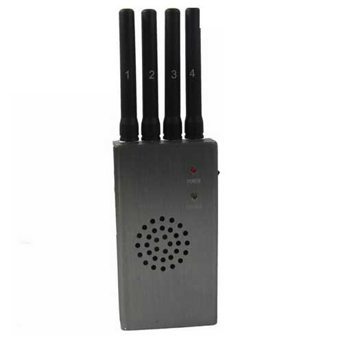 signal blocker handy box - Portable High Power 3G 4G Cell Phone Jammer with Fan