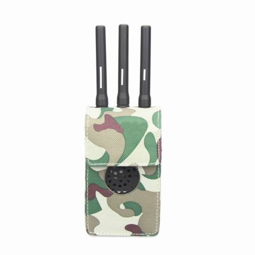 phone jammer homemade dog - Camouflage Design Fabric Material Portable Jammer Case