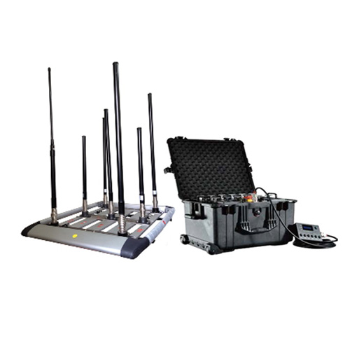 Wholesale 300W 4-8bands High Power Drone Jammer Jammer up to 1500m