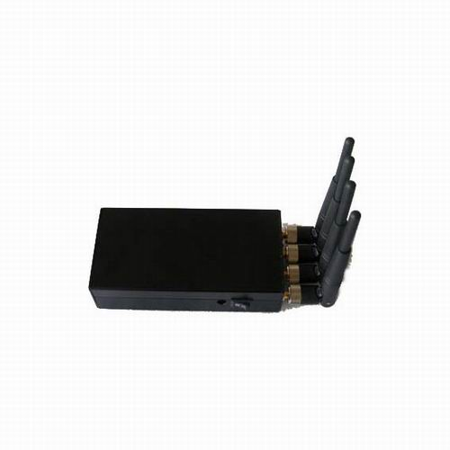 covert gps jammer portable - Portable High Power 4W Mobile phone signal Jammer (CDMA,GSM,DCS,PHS,3G)