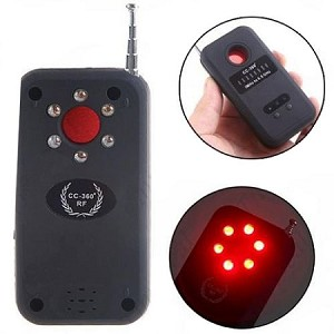 phone jammer video watch - High Frequency Signal RF  Lens Detector