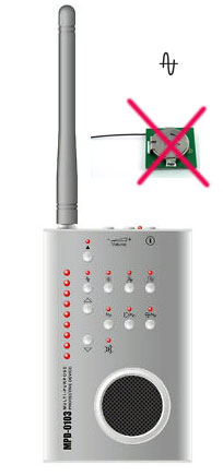 cell signal blocker jammer - Bug Detector Radio Frequency Detector