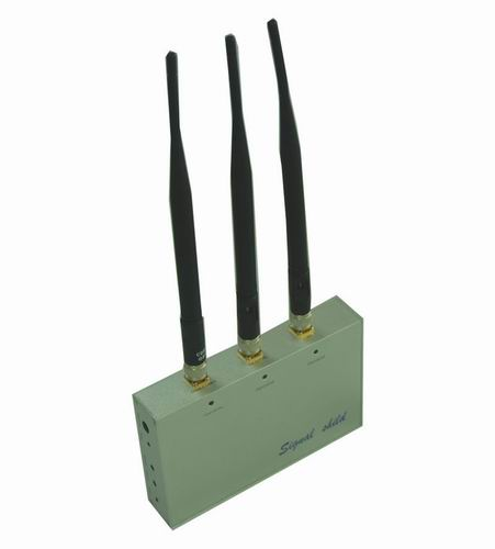 block cell phone call - Cell Phone Jammer with Remote Control (CDMA,GSM,DCS and 3G)
