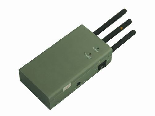 e-portable mobile phone signal jammer