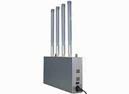 16 Bands Cell Phone Block - High Power Mobile Phone Jammer with Omni-directional Firberglass Antenna