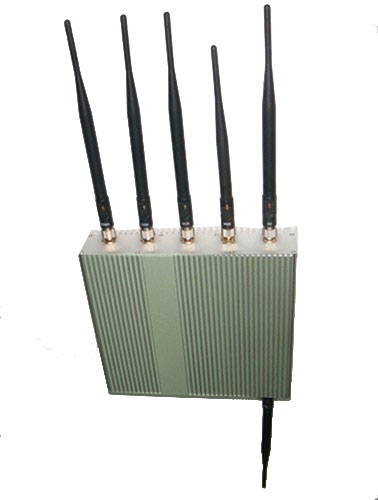 phone jammer london weather - 6 Antenna Cell Phone GPS WiFi Jammer +Remote Control