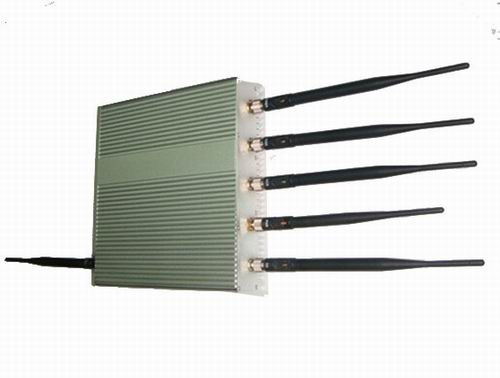 buy cell phone jammer online in india - 15W 6 Antenna Mobile Phone GPS WiFi Jammer