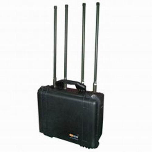 4G Jammer 10 Meters - Remote Controlled High Power Military Cell Phone Jammer