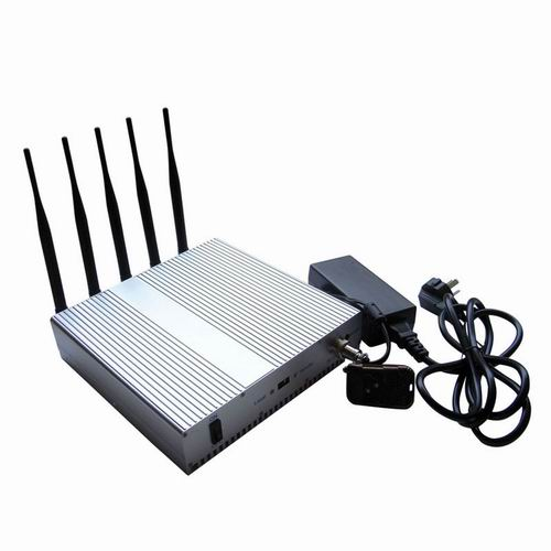 best 4g cell phone service - 5 Band Cellphone WIFI signal Jammer with Remote Control+Omnidirectional Antennas