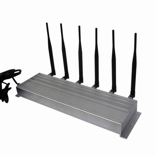 gps vehicle jammer anthem - 6 Antenna High Power 3G Cell phone & 315MHz 433MHz Jammer