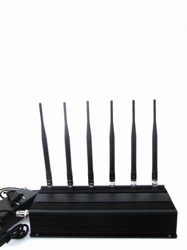 phone jammer train band - 6 Antenna Cell phone & RF Jammer (315MHz/433MHz)