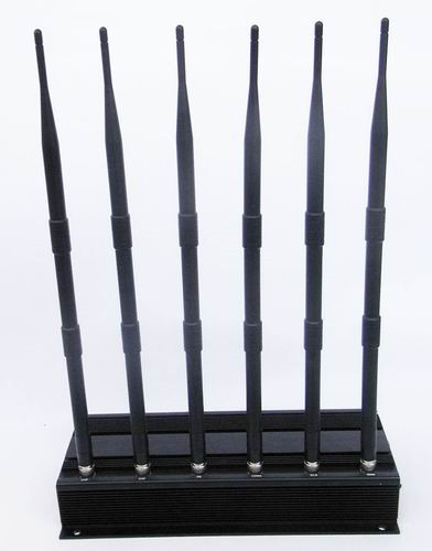 12 Antennas 4G Jammer - High Power 6 Antenna WIFI, VHF, UHF and 3G Cell Phone Jammer