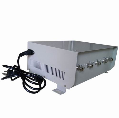 4 Bands 2G Jammer - 75W High Power Cell Phone Jammer for 4G LTE with Omni-directional Antenna