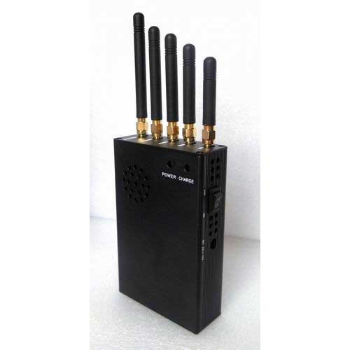 gps frequency jammer machine - 3W Portable CDMA450 Cell Phone Jammer