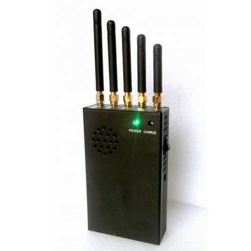 signal jamming meaning name - 3W Portable 3G Cellphone Jammer & VHF Jammer & UHF Jammer