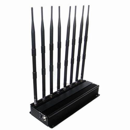 cell phone jammers school - High Power 3G 4G Mobile Phone Jammer and UHF VHF WiFi Jammer