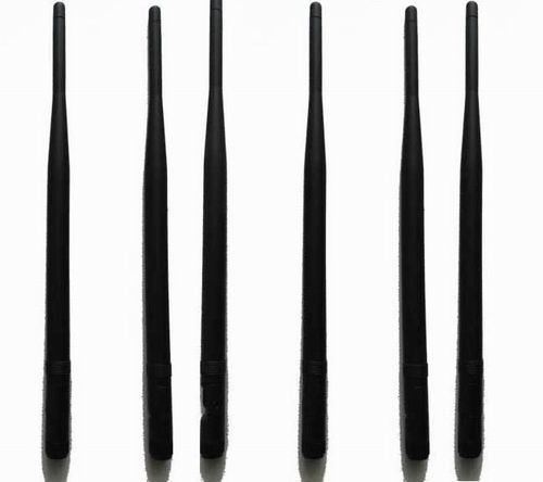 cell phone jammer Albania - 6pcs Replacement Antennas for High Power Cell Phone RF Signal Jammer