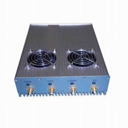 cell phone in china - 4 Antenna 20W High Power 3G Cell phone & WiFi Jammer with Outer Detachable Power Supply