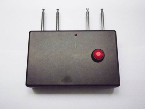 cell phone walkie talkie - Portable Quad band RF Jammer (310MHz/ 315MHz/ 390MHz/433MHz)