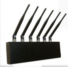 phone data jammer tech - 6 Antenna WI-Fi & GPS &Cell phone Jammer for World Wide Usage