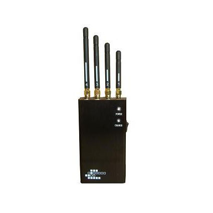 Wholesale 5-Band Portable WiFi Bluetooth Wireless Video Cell Phone Jammer