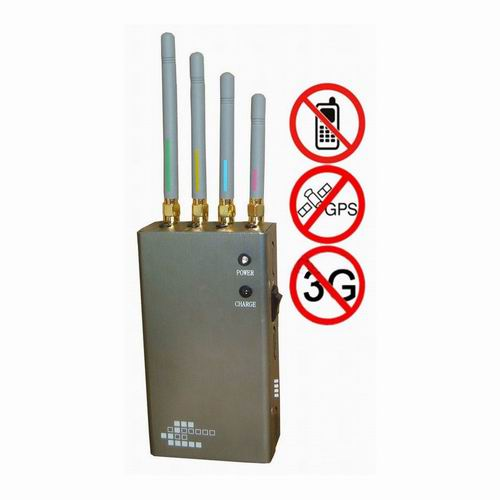 mobile phone jammer schematic - 5-Band Portable Cell Phone 2G 3G & GPS Jammer