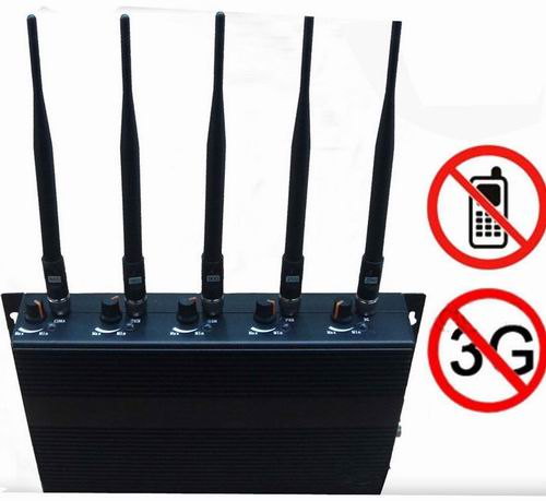 phone jammer gadget lovers - Adjustable 5-Band Cell Phone Signal Jammer