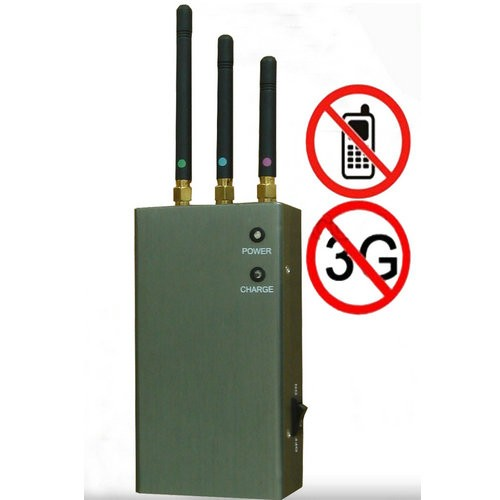 phone jammer amazon free - 5-Band Portable Cell Phone Signal Blocker Jammer