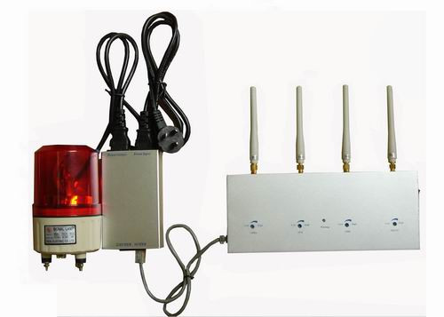 jammer kit - All Mobile Phone Signal Detector with Alarming System