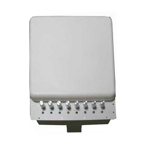 4 Antennas wireless Jammer - Adjustable 3G 4G Wimax Mobile Phone WiFi Signal Jammer with Bulit-in Directional Antenna