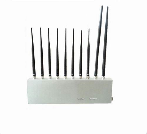windows wifi jammer software - 10 Antenna 10 Band 3G 4G GPS WiFi LoJack UHF VHF All Signal Jammer