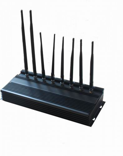 desk top jammer - 8 Bands High Power 3G Phone Jammer WiFi GPS LoJack UHF VHF Jammer