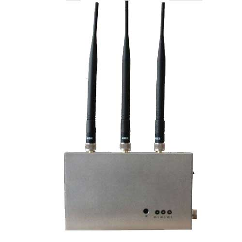 10 Antennas 4G Jammer - Remote Controlled 4G Mobile Phone Jammer
