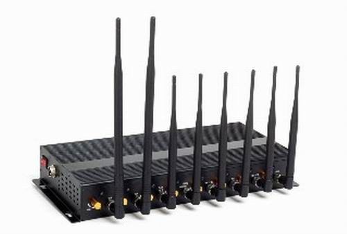 large cell phones - 8 Powerful Antenna 3G/4G WiFi High Power Cellphone Jammer with Portable Aluminum Box