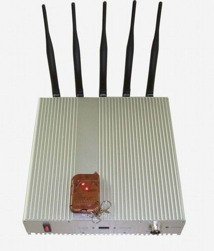 phone jammer 184 home - 5 Band Cellphone Lojack GPS Jammer with Remote Control