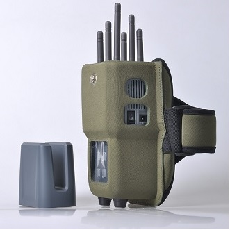 5 Antennas 4G LTE Jammer - 6 Bands All CellPhone Handheld Signal Jammer