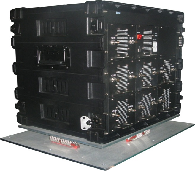 signal jammer Chile - DDS High Power Full Band Vehicle Military Convoy Protection Bomb Jammer System 25-3600MHz