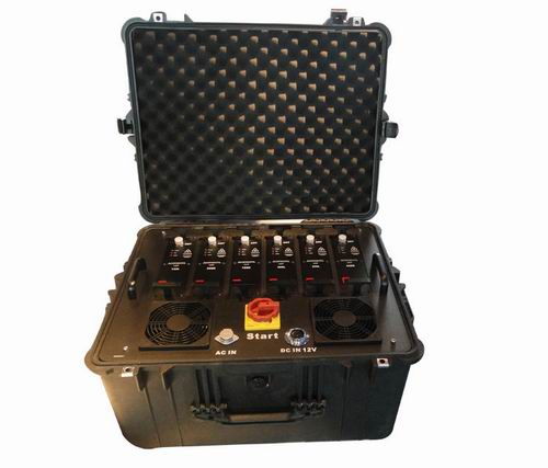 Wholesale Portable Multi Band High Power VHF UHF Jammer for Military and V
