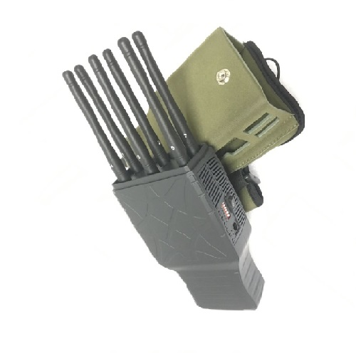 Wholesale Handheld 6 Bands All CellPhone and WIFI Signal Jammer with Nylon Case